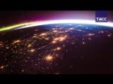 Восход солнца с Международной космической станции