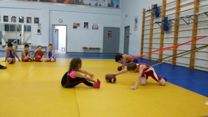 Тренировка в БК 《Руслана Шагина》2