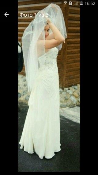Свадебные платья б.у в воронеже