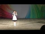 Песня первоклассника. Спицына Мария 7 лет, лауреат 1 степени, победитель конкурса Полифония сердец