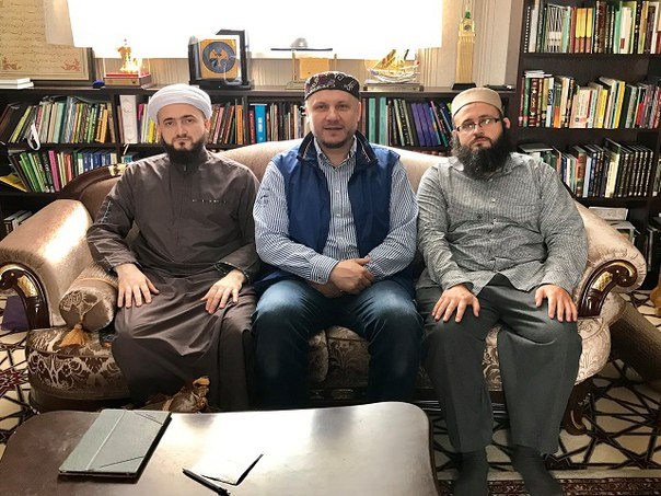 Президент Ассоциации предпринимателей – мусульман России Айдар Шагимар