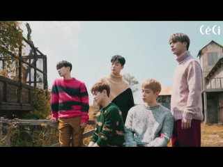 [BTS] 25.09.2017 Highlight - Ceci Korea Magazine October 2017 Issue Photoshoot Making