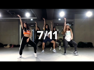 1million dance studio mina myoung choreography ⁄ workshop ⁄ beyonce 7⁄11