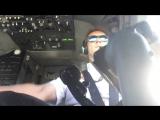 Пилот показал, что происходит в кабине при сложной посадке.