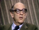 Isaiah Berlin interview on Why Philosophy Matters (1976)