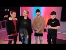 VOX Prominent - interview with Tokio Hotel (21.02.2017, Berlin)