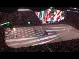 Болельщики Девилз исполняют Гимн США