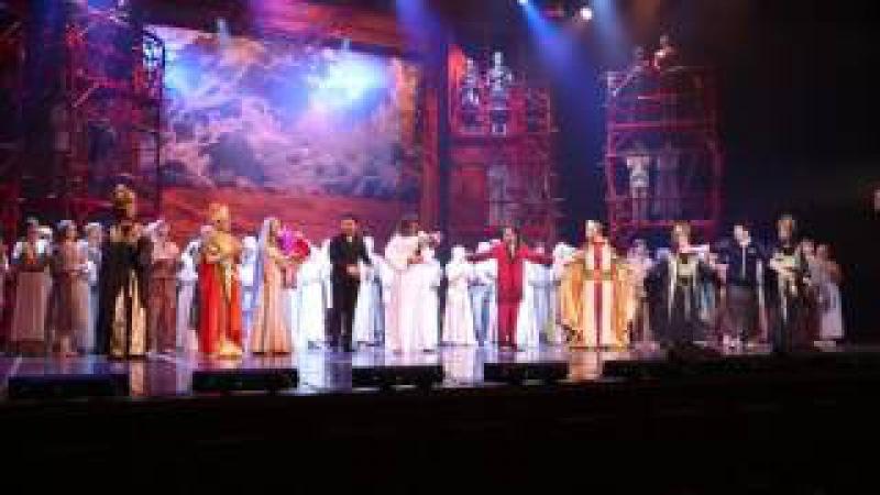 2017 04 02 Опера Иисус Христос супер звезда Поклон и аплодисменты ТеатрСапаева