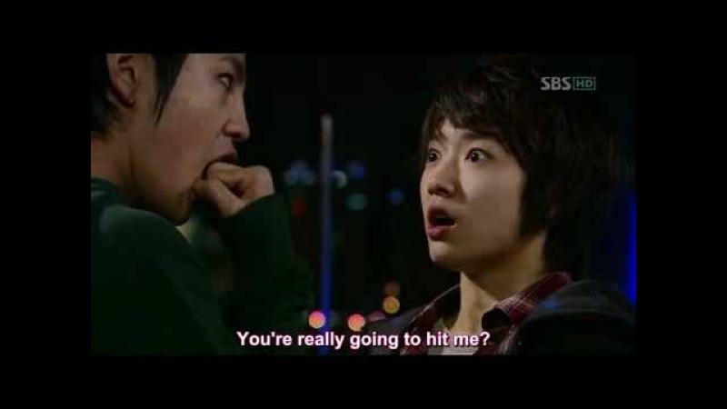 Tae Kyung kiss Go Mi Nam (Jang Geun Suk Park Shin Hye)