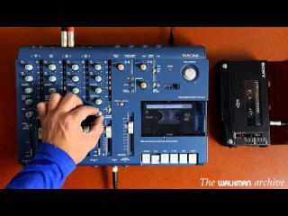 Playing with a multitrack song on a TASCAM 414 MkII