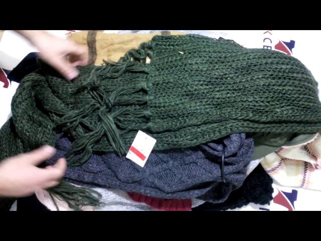 Шапки, шарфы, перчатки CA сток