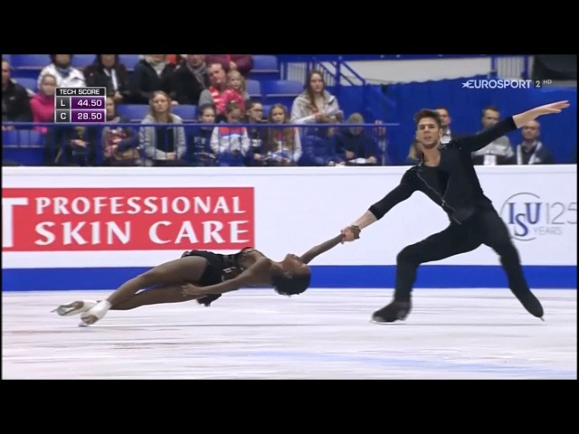 Vanessa JAMES Morgan CIPRES - European Championships 2017 - SP (B.ESP)
