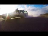 Volvo 745 burnout! SMOKE MACHINE!! #volvodrift
