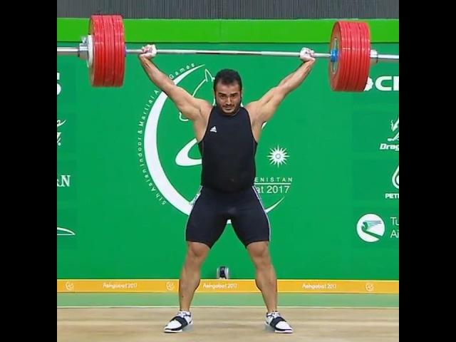 Сохраб Моради, выступление на Чемпионате Азии по тяжёлой атлетике 2017 года