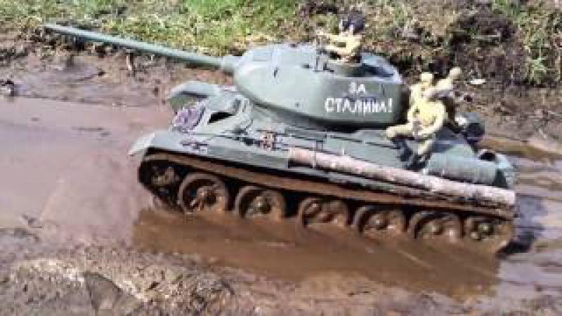 1/16 rc T-34/85 BA-64
