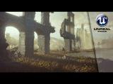 Speed Level Design Scene in Unreal 4 - WallRuins
