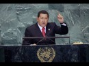 Discurso Historico Hugo Chavez en la ONU !!Aqui Huele A Azufre!!