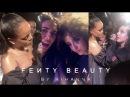 Coralie и Shera Kerienski на launch party Fenty Beauty Париж 21 09 2017