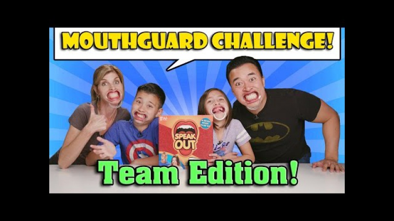 MOUTHGUARD CHALLENGE TEAM EDITION Family Speak Out Game!