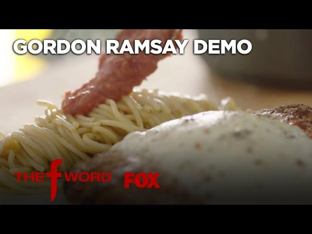 Gordon Ramsay's Chicken Parmesan Recipe: Extended Version | Season 1 Ep. 3 | THE F WORD