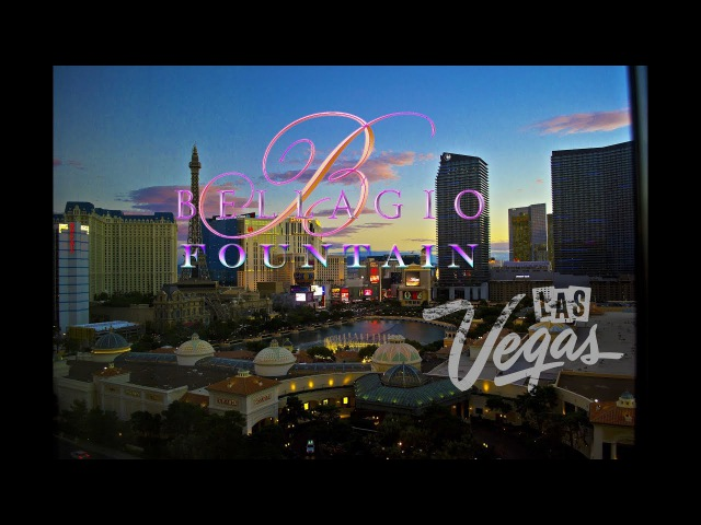 Fountains of Bellagio. Las Vegas. Nevada. USA / Танцующие фонтаны Белладжио. Лас Вегас. Невада. США