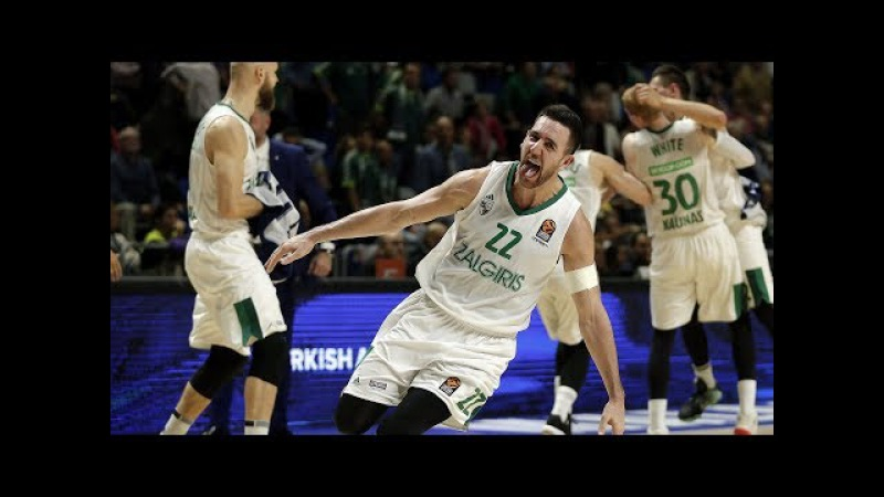 SlowMotion: Zalgiris wins the overtime in Malaga