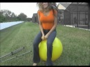 Big yellow hoppity hop