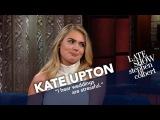 Кейт на Позднем Шоу Стивена Кольбера