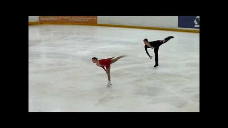 Anna SILAEVA Artur MINCHUK SP Russian Jr. Nationals 2010 Saransk