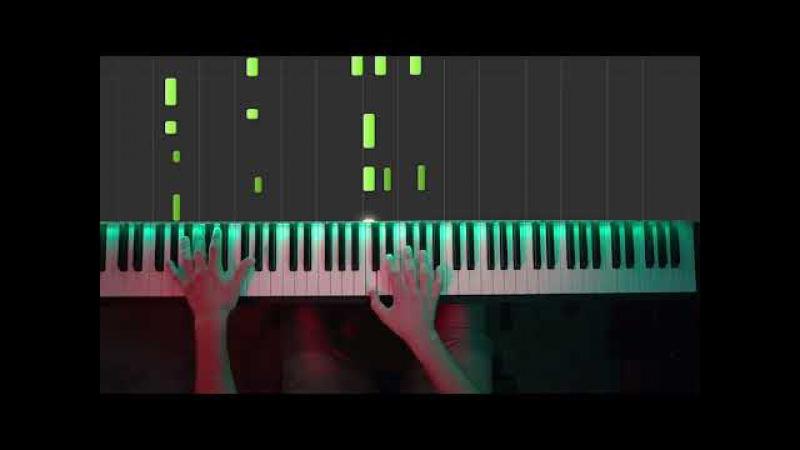 For The Damaged Coda - Rick Evil Morty (Piano Cover) [hard]