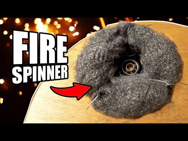 Steel Wool Fidget Spinner Mod Fire | Dudesons