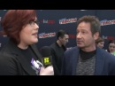 Gillian Anderson David Duchovny on Mulder Scully's Kid New York Comic Con 2017 SYFY WIRE