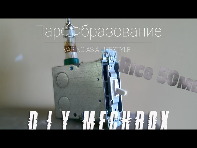 Diy mech box by Rico \ бокс мод своими руками | Rico 50ml