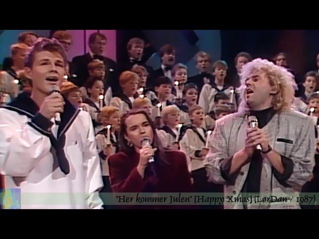 E. Eldøen, E. Norberg-Schulz, MORTEN HARKET Sølvguttene - Her Kommer Julen [NRK LørDan 1987]