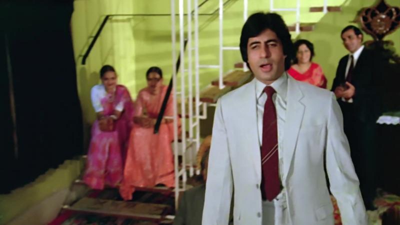 Bemisal. 1982г - Kisi Baat Pe Main Kisise Khafa Hoon - Rakhee, Amitabh, Vinod Mehra