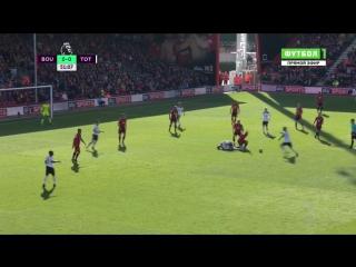 Борнмут 0:0 Тоттенхэм   Английская Премьер Лига 2016/17   9-й тур   Обзор матча