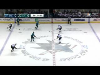 Сан-Хосе - Сент-Луис 0-4. . Обзор матча НХЛ