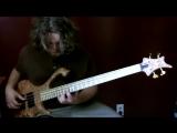 Aram Bedrosian - игра на бас гитаре