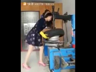 Трудолюбивые азиатские девушки