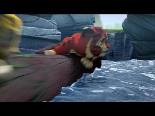 Сказочная Тайга, история о дружбе и множество мини-игр — Лео и Тиг