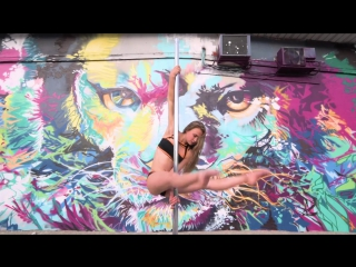 Pole Dance and Street Arts Mix by Pole  Me and Olga Trifonova