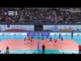 Волейбол. Женщины. Чемпионат Европы Россия – Турция.Обзор матча