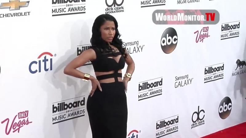 Ники на красной ковровой дорожке ежегодной премии «Billboard Music Awards» в Лас-Вегасе