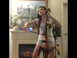 Tina Guo Live- Dubstep Cello (Lindsey Stirlings Crystallize)