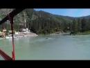 Мост через Катунь, дорога к водопаду
