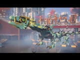 Green Ninja Mech Dragon - LEGO NINJAGO Movie - 70612 - Product Animation