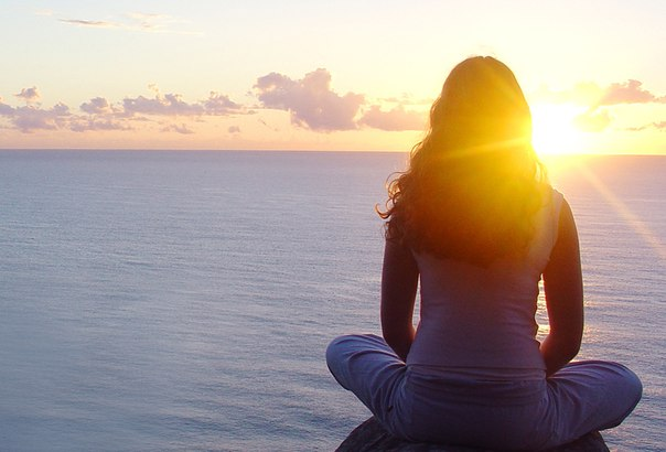 Время тишины... вечность между вдохом и выдохом.