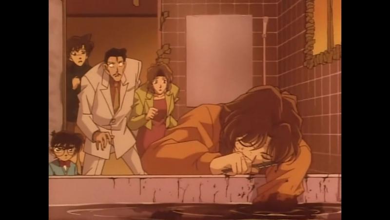 El Detectiu Conan - 122 - El cas de l'assassinat enigmatic del lavabo tancat (II)