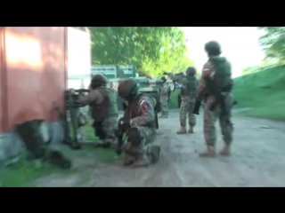 Рабочие будни спецназа ФСБ.Северный Кавказ. Гранатометчики-огонь.