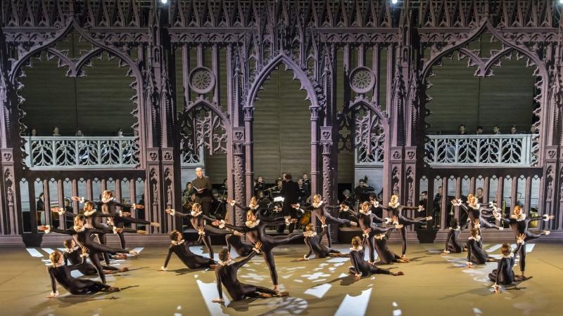 Franz Joseph Haydn Die Schöpfung Сотворение мира Sadler's Wells London November 2016 dance version смотреть онлайн без регистрации